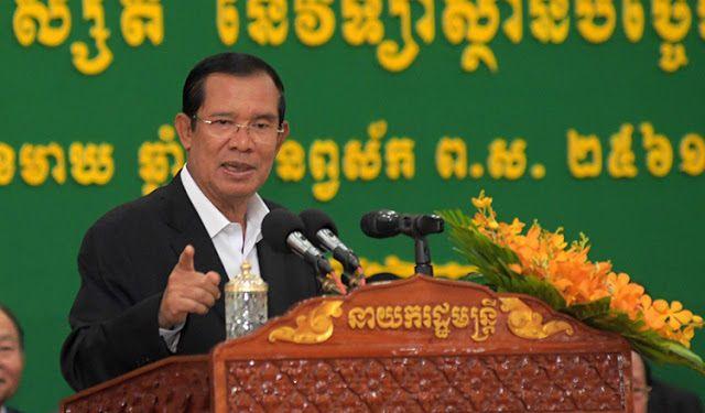 Hun Sen calls Rainsy a terrorist