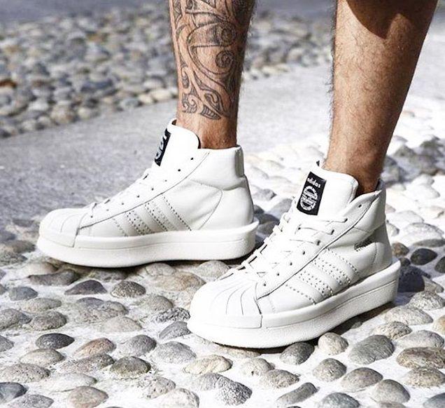 c89efcb5263bd Rick Owens x adidas Mastodon Mid: Cream   Sneakers: adidas x Collaborators    Sneakers, Adidas, Shoes
