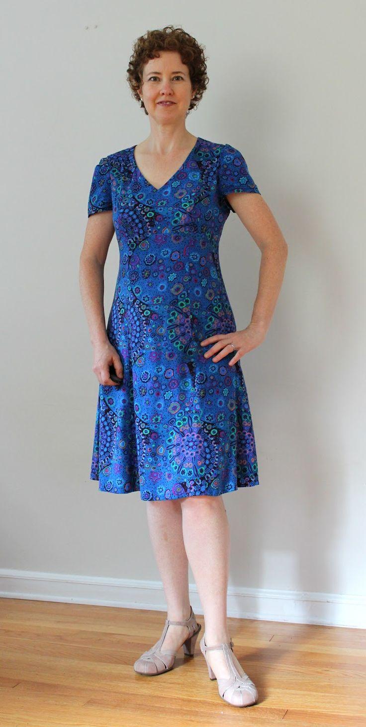 121 besten Patterns Dresses Bilder auf Pinterest | Nähideen ...