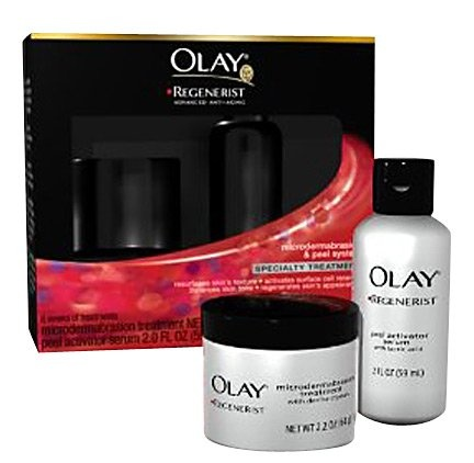 DUPE for Philosophy Microdelivery.  Average $40.00 savings.    Olay Regenerist Microdermabrasion & Peel System - Best Price