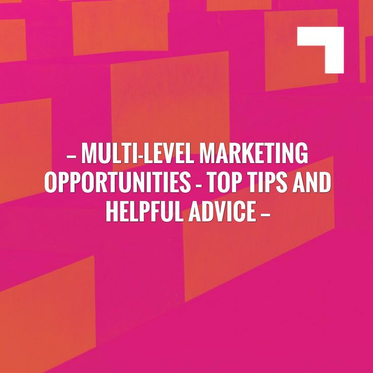 New on my blog! Multi-level Marketing Opportunities – Top Tips And Helpful Advice https://jonathantejedablog.wordpress.com/2017/08/06/multi-level-marketing-opportunities-top-tips-and-helpful-advice/?utm_campaign=crowdfire&utm_content=crowdfire&utm_medium=social&utm_source=pinterest