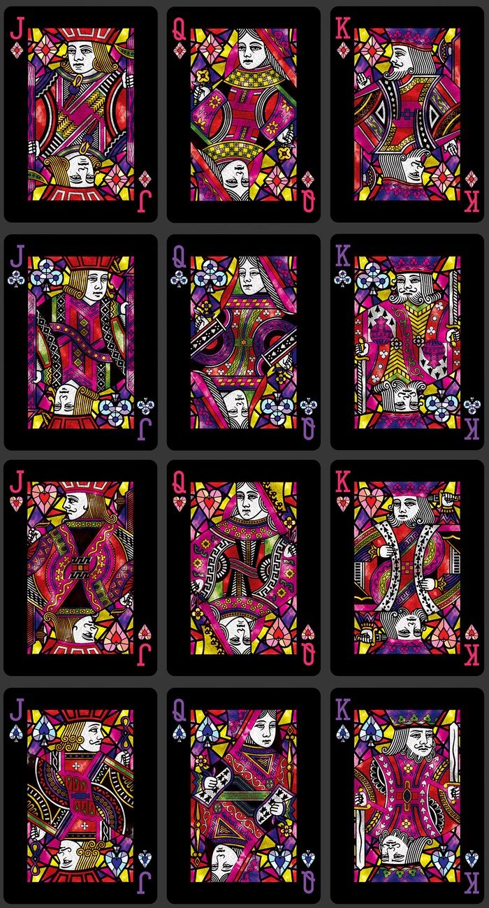 Bicycle Stained Glass Playing Cards by Collectable Playing Cards — Kickstarter