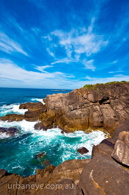Fingal Bay near Nelson Bay NSW Australia - great place to watch whales from Barry Park