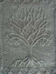 Ravelry: Project Gallery for Tree pattern by Ariel Barton - free knitting pattern That is sooooo beautiful!!!!!