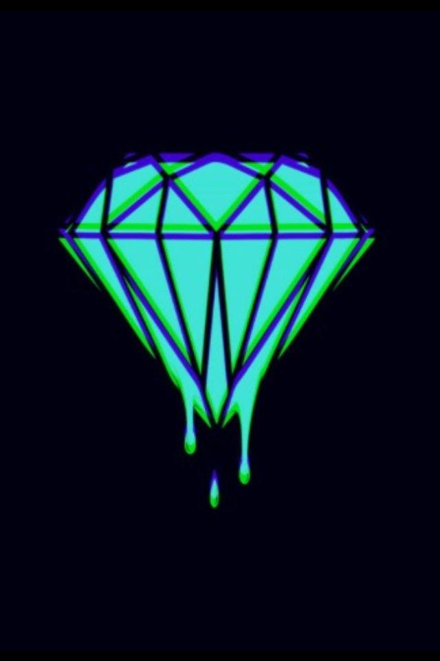 Melting diamond | Brands and Logos | Pinterest | Diamonds