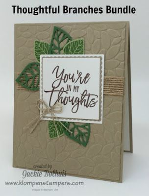 Thoughtful Branches- Stampin' Up!