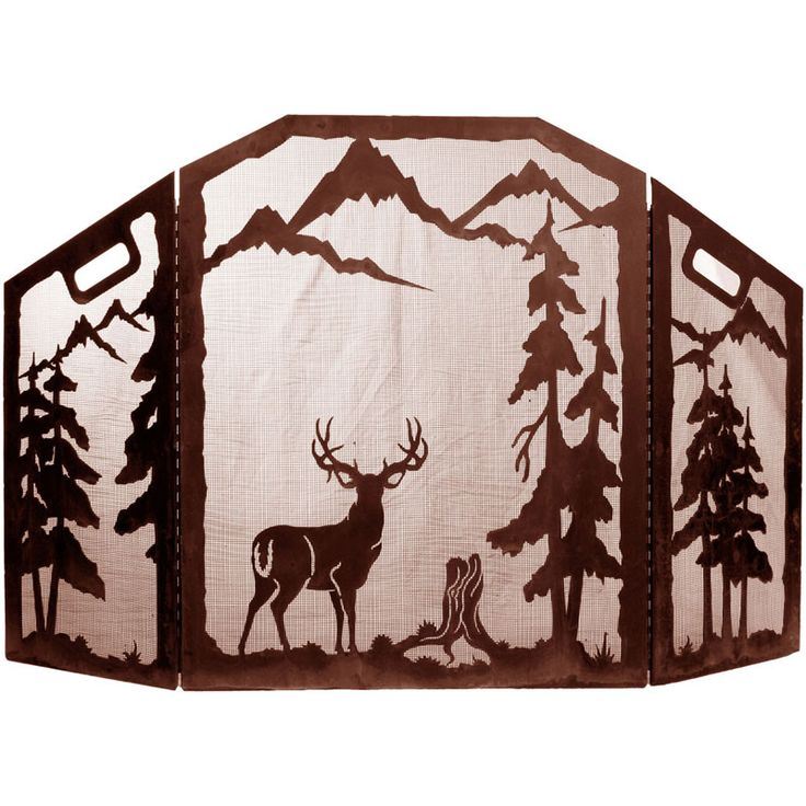 Western Amp Wildlife Design Fireplace Screens Fire Screens