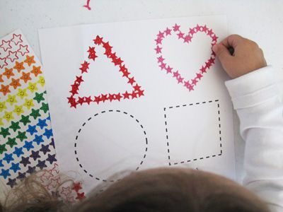 8 Fun Ways for Preschoolers to Practice Fine Motor Skills with Shapes   Imagine…