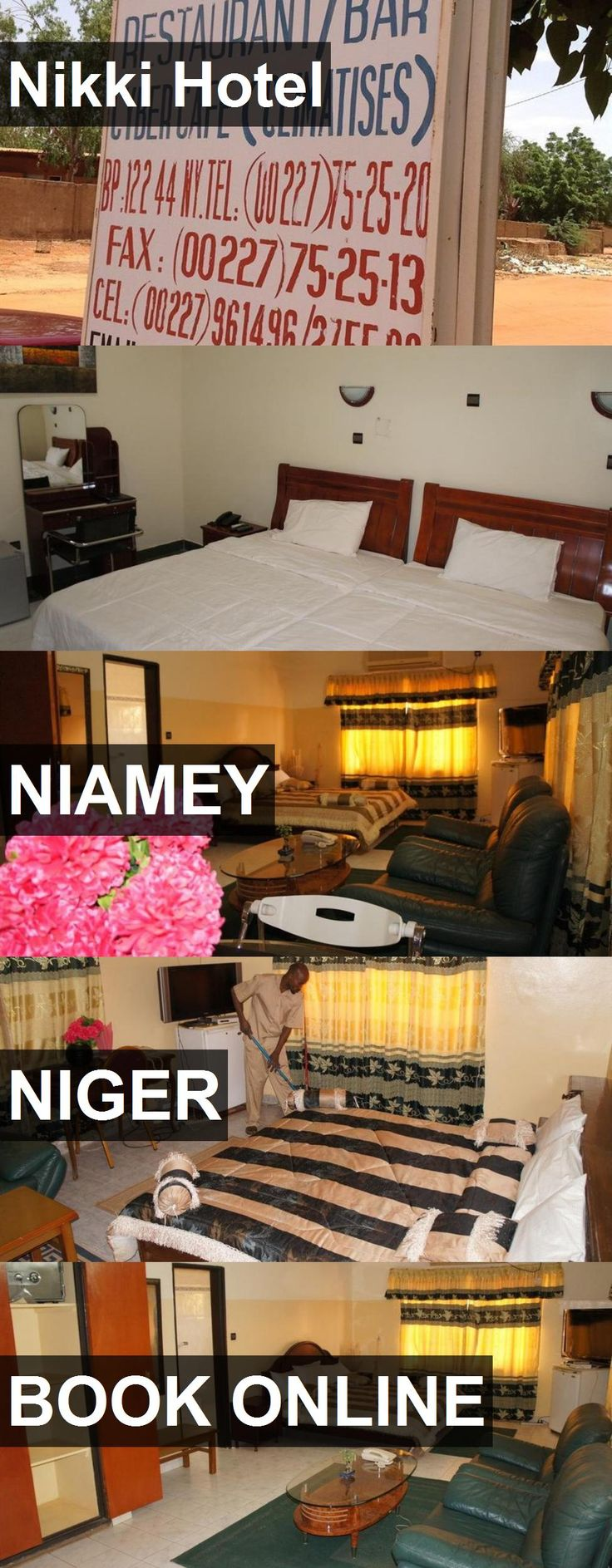 Nikki Hotel in Niamey, Niger. For more information, photos, reviews and best prices please follow the link. #Niger #Niamey #travel #vacation #hotel