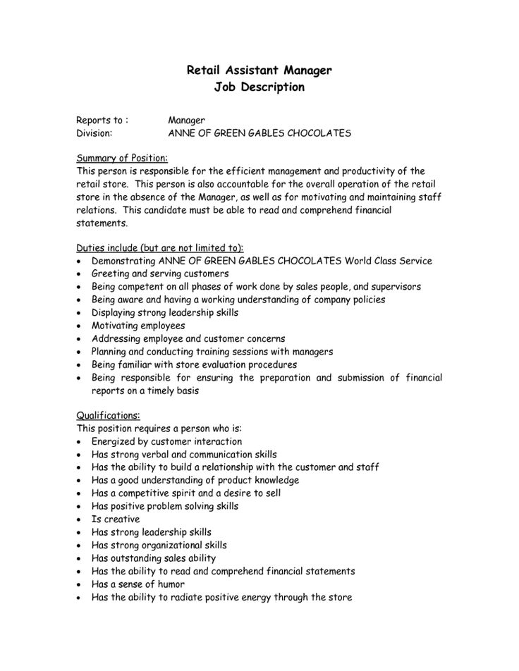 grocery store resume example sample cashier cover letter Home - assistant manager job description