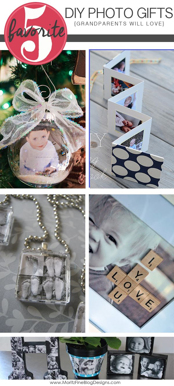 DIY Photo Gift Ideas for Grandparents | Dads, Gift ideas ...