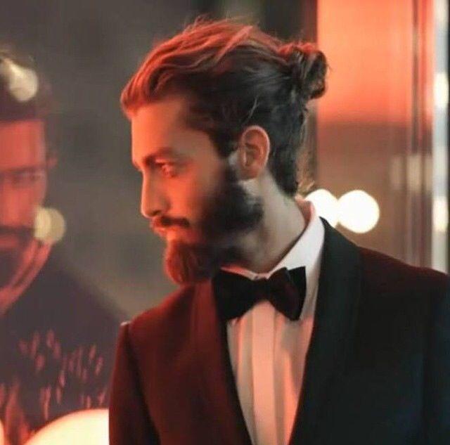 The Tuxedo Man Bun