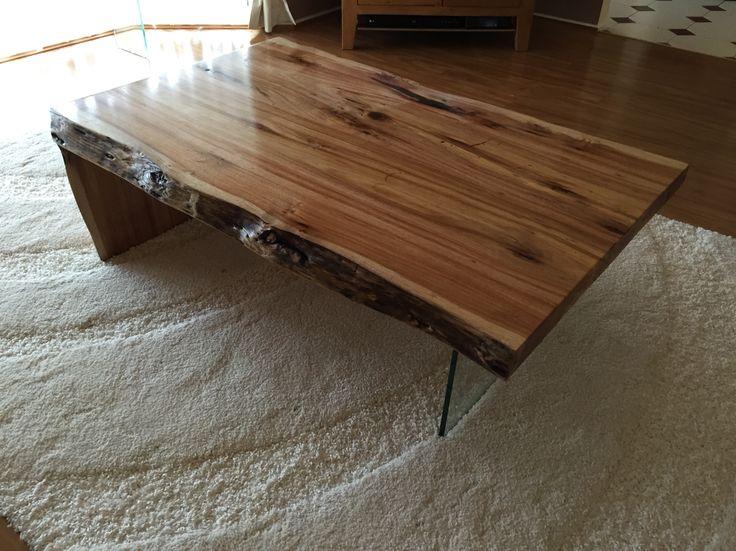 Blackwood slab coffee table