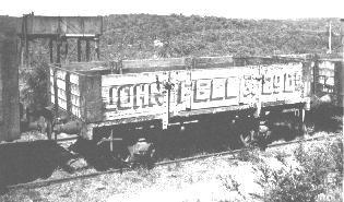 'D' wagon at Newnes Junction