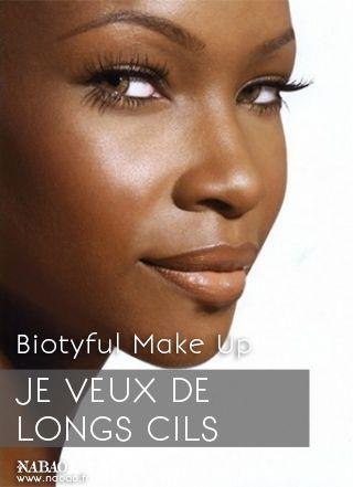 Biotyful Make Up :  Pour avoir de longs cils, prenez un mascara vide et nettoyez-le. Remplissez-le d'huile d'olive. Répétez l'action deux à trois fois par semaine. Comme pour les cheveux, l'huile d'olive les ferra pousser !   #Nabao #MakeUp #Conseils #Astuces #Maquillage #Cils