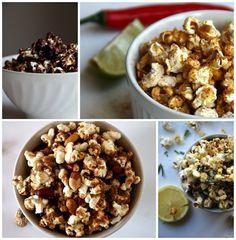 Popcorn is een super verantwoorde snack! Maar de popcorn uit de magnetron of de grote doos die je in de bioscoop scoort, is nou niet bepaald healthy te noemen.