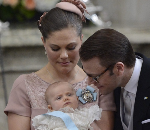 Bautizo Real de la princesa Estelle de Suecia #royalty #royals