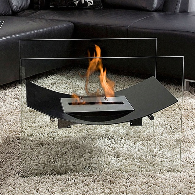 Veniz FirePlace- simple design, hugely effective!