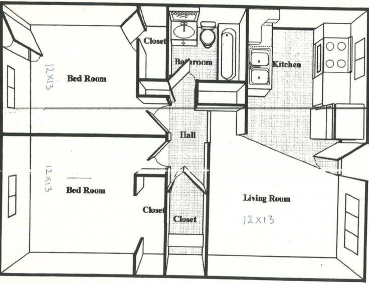 Best 500 Square Feet House Plans 600 Sq Ft Apartment Floor Plan 400 x 300