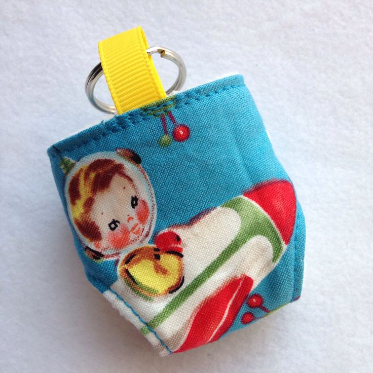 A personal favourite from my Etsy shop https://www.etsy.com/listing/197254847/cloth-diaper-cloth-nappy-mini-keychain