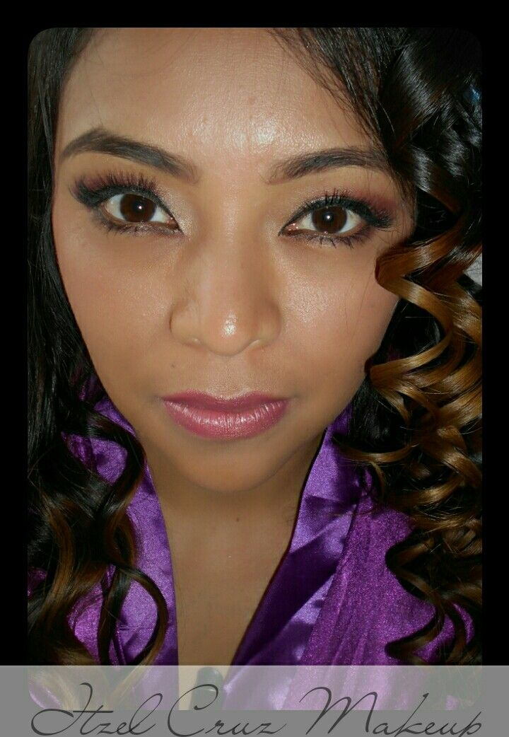 Maquillaje con aerógrafo. Itzel Cruz Makeup. Www.itzelcruzmakeup.com