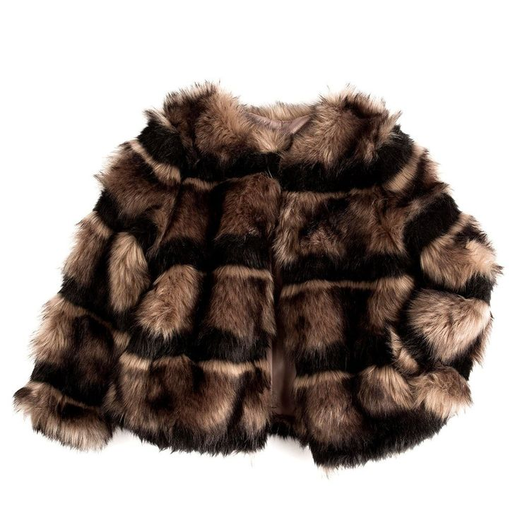 """Nothing says, """"the party can start now...I'm here!"""" like this magnificent faux fur jacket. Perfect for the fashion lover who never holds back."""