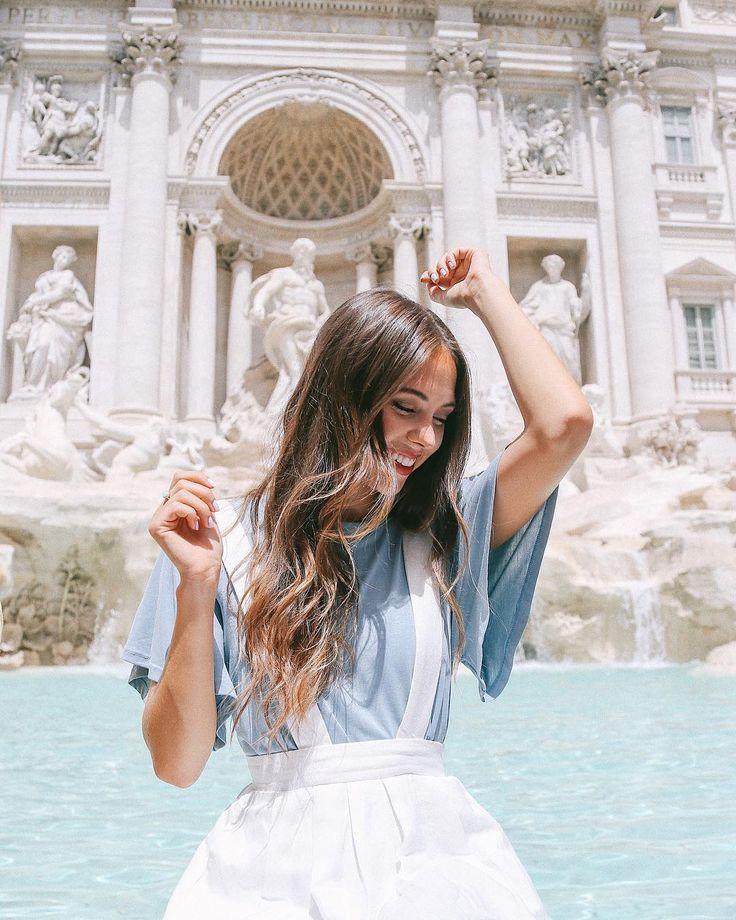 Trevi Fountain, Rome ig: kaitlynoelle | @kaitlynoelle