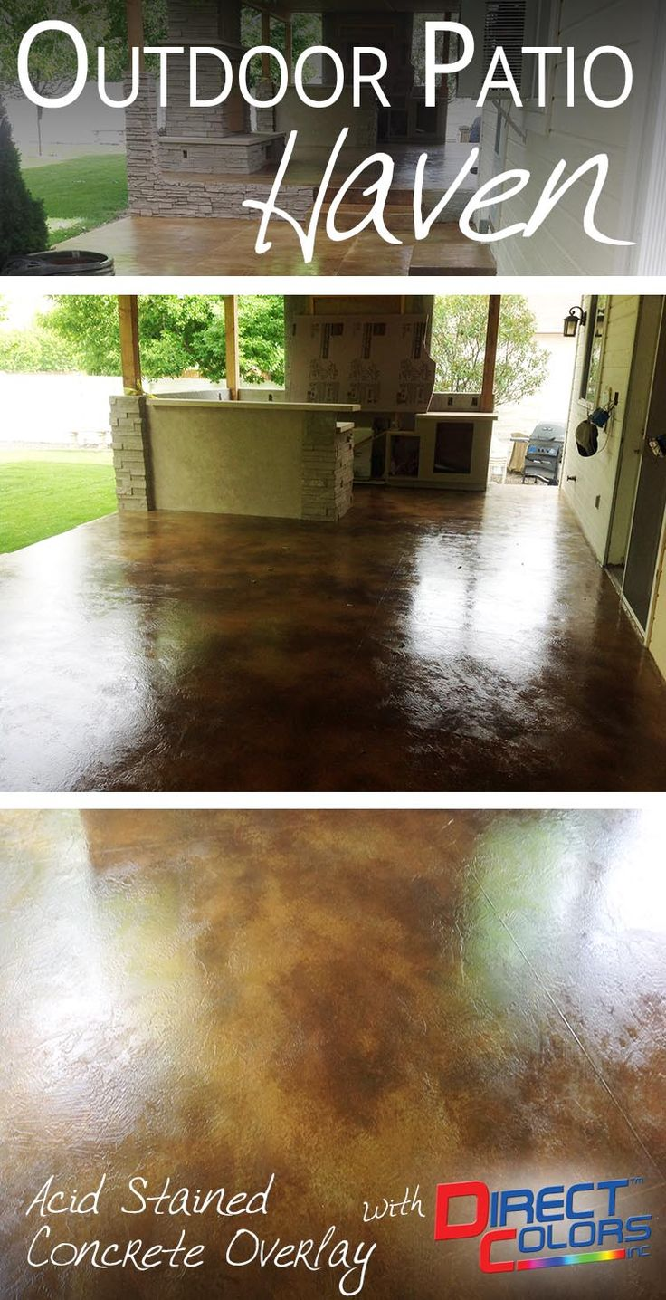 101 best concrete patio makeovers images on pinterest boost your curb appeal with direct colors patio refinishing products solutioingenieria Gallery