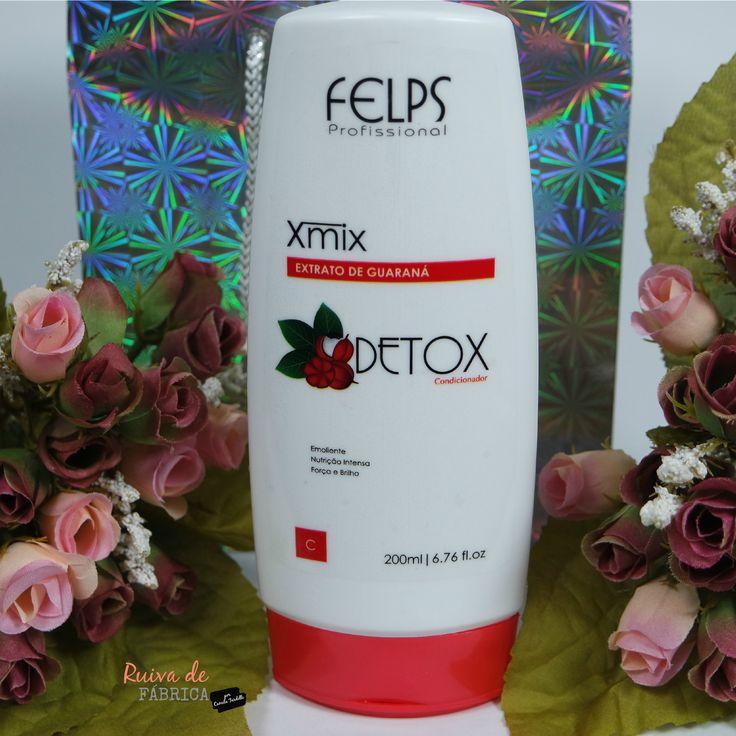 Ruiva de Fábrica: Resenha: Felps - Xmix Detox Extrato de Guaraná #felpsprofissional