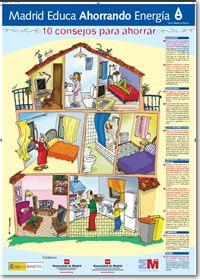 Infograf a 10 consejos para ahorrar energ a ahorro - Ahorrar para una casa ...