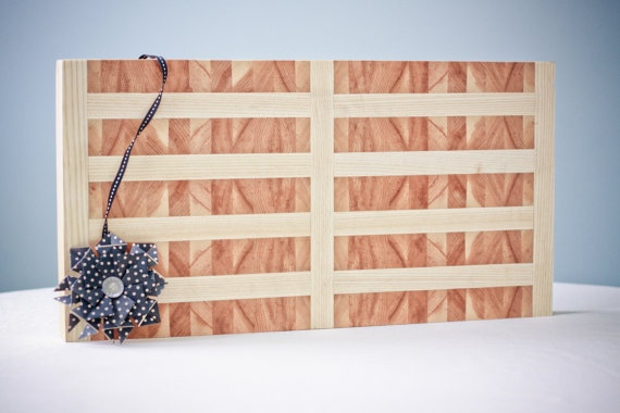 Mirror Image Butcher Block Cutting Board.  I've never been able to replicate this board.  Pity... I think it's stunning.