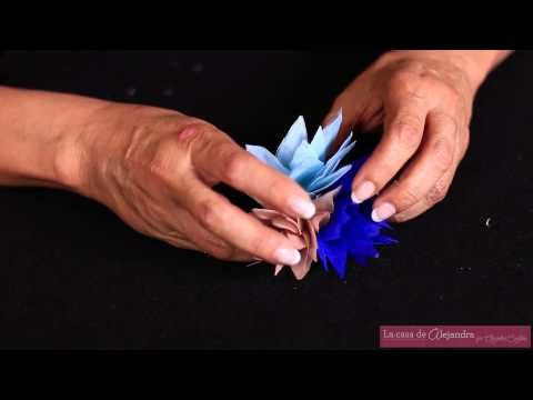 La casa de Alejandra: Como Hacer unas Flores de Tela para una Diadema - DIY Alejandra Coghan