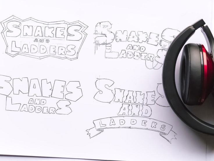 Logo Concept Art of Snakes And Ladders 3D Game