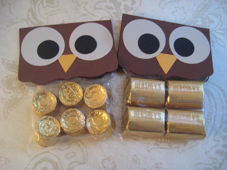 Owl Treat Bags Halloween Treat Bags Halloween Goodie by Kbettega