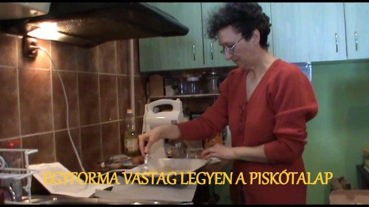 Az eredeti somlói galuska elkészitése