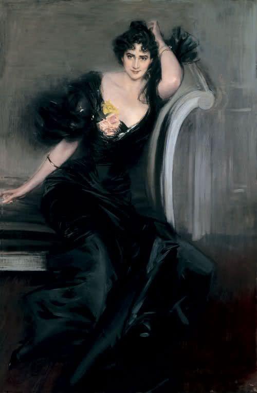 Giovanni Boldini, Gertrude Elizabeth, Lady Colin Campbell 1897 olio su tela National Portrait Gallery, London