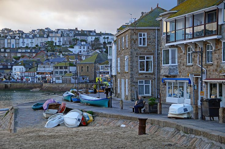 the Wharf at St Ives.