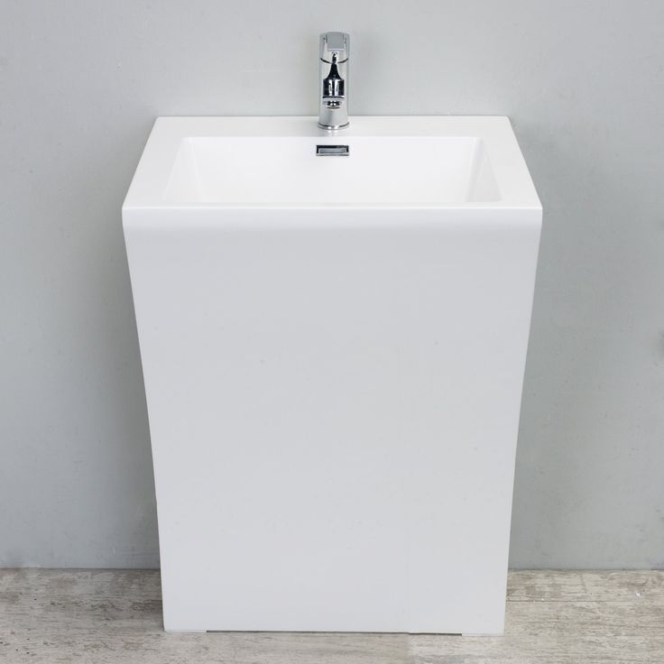Eviva Numero 24 in. Single Sink Bathroom Vanity - EVSK7-24WH