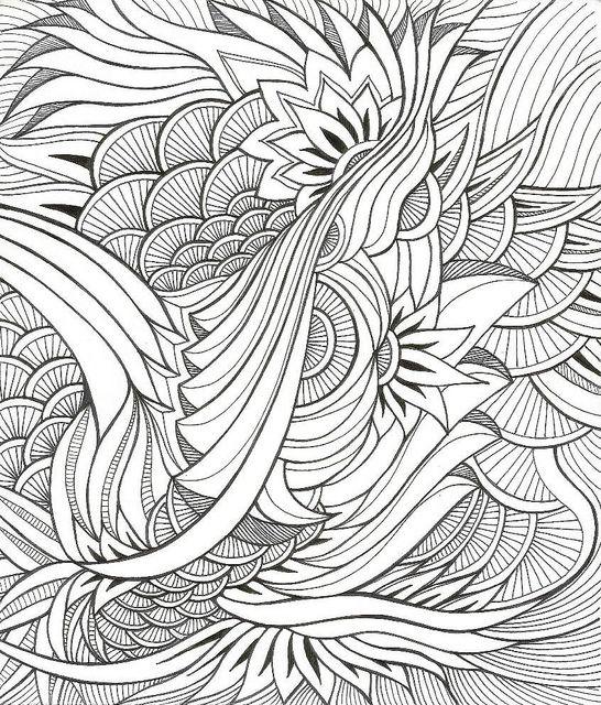 fancy mandala coloring pages - photo#15