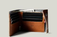 Snap Wallet / Heritage #hardgraft #elegance #leather #wool #sporty #pocket