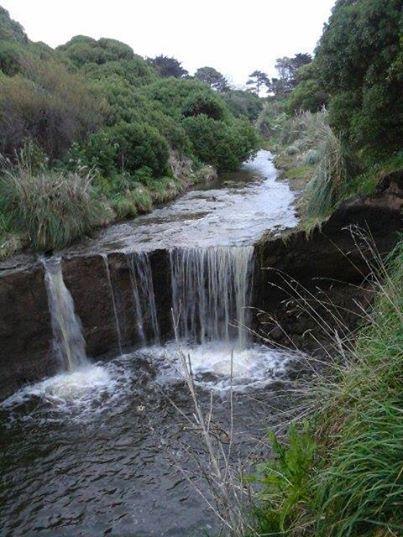 Foto: Buenos Días MdP!! Cascadita del arroyo Corrientes, 500 metros al sur del Faro! La conocías?? Foto de Leandro Ugalde