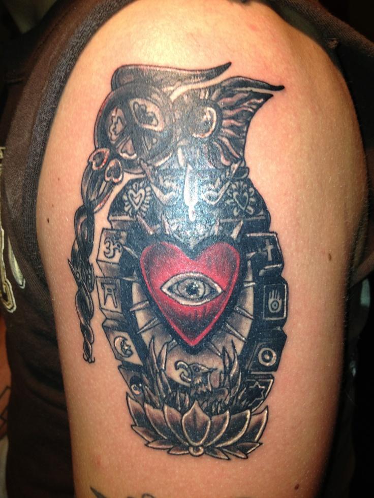 Light Grenades Tattoos Pinterest Grenades Lights