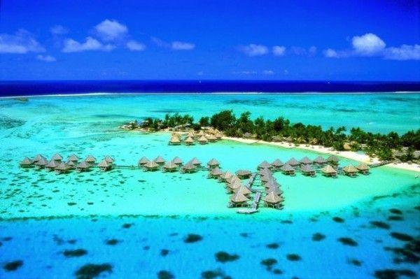 Bora Bora, Tahití. Paisajes más impresionantes del planeta