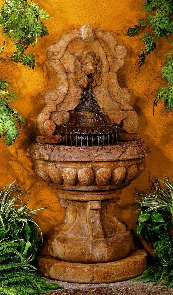 101 best Fuentes. De. Agua images on Pinterest | Garden fountains ...