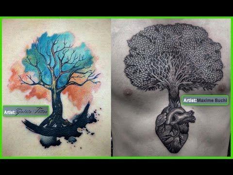 http://besttattoostheworld.com/best-tree-tattoos/ Best Tree Tattoos, Tree Tattoos Video, Tree Tattoos Photos, Tree Tattoos Images, Tree Tattoos Pictures, Tre...