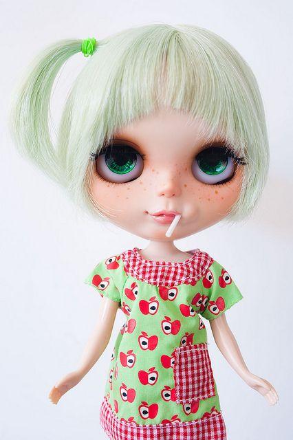 Sweet custom Blythe Doll