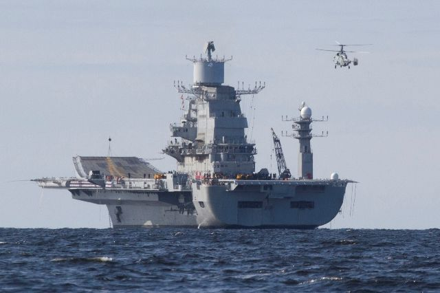 "Indian Navy's ""new"" carrier INS Vikramaditya, ex-Admiral Gorshkov Picutre: Sevmash"