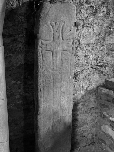 Knights Templar grave - Blair