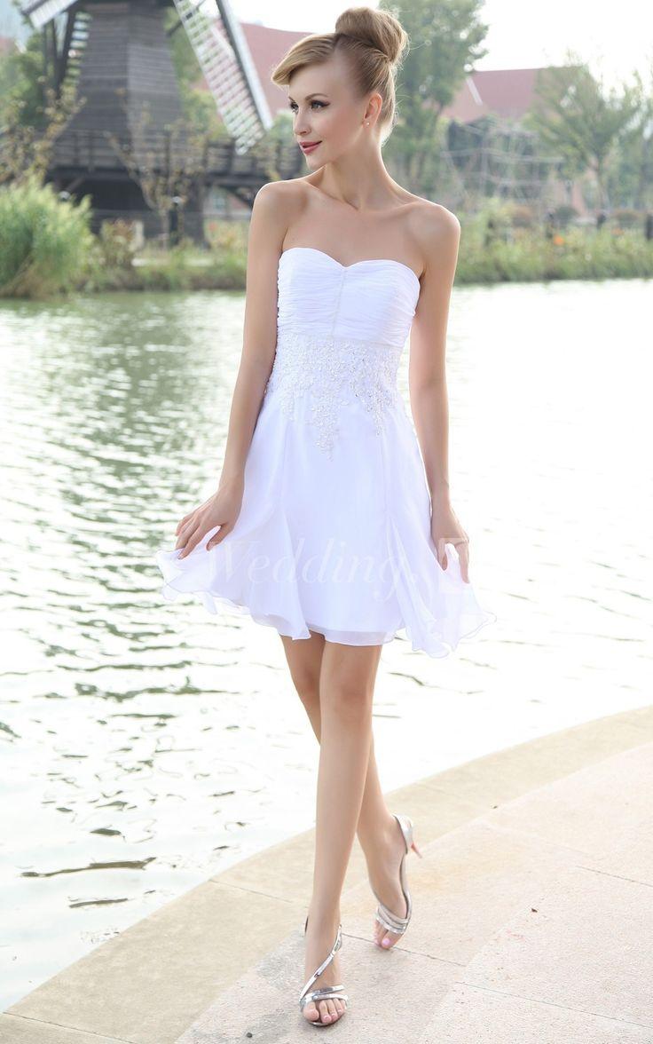 115 besten Wedding Reception Dresses Bilder auf Pinterest ...