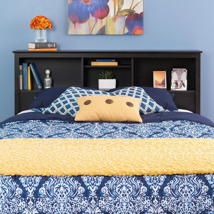 Prepac Riverdale Bookcase Headboard | from hayneedle.com